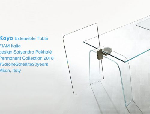 Kayo Table Permanent Collection / Salone Satellite 20th anniversary / Italy