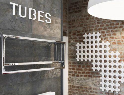 Vivere il bagno / TUBES radiatori / Showroom / Milan / Italy