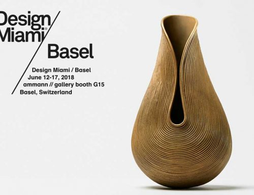 New 3rd Generation of B.M. Vases / Design Miami / Basel / CH / 12-17 June 2018
