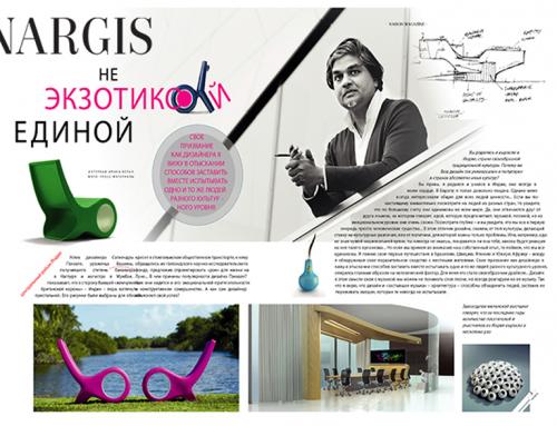 Nargis Magazine Azerbaijan / Interviewed SatyendraPakhalé