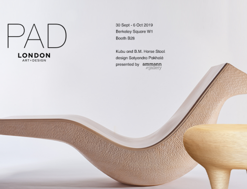 30 September – 6 October 2019 / PAD London Art + Design / Kubu / B.M. Horse Stool design Satyendra Pakhale
