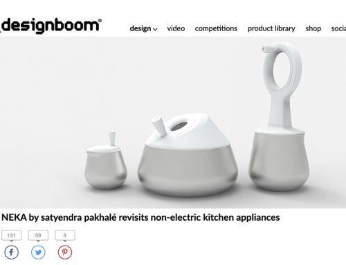 NEKA® by Satyendra Pakhalé revisits Non-Electric Kitchen Appliances