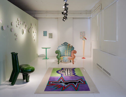 Flower Offering Chair / 'COLOURS' group exhibition / ammann // gallery / Germany